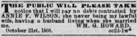 Annie F. Wilson