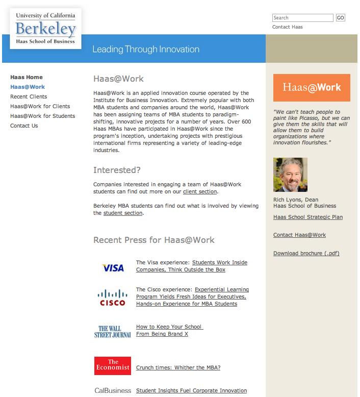 Berkeley Innovative Leader Development